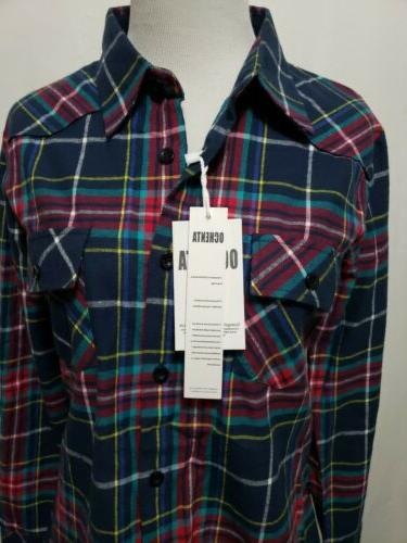 NWT Flannel BUST
