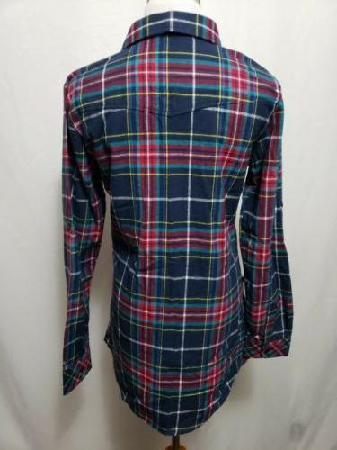 NWT Ochenta Flannel Women's Shirt BUST