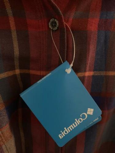 NWT 5X Ridge Flannel Sleeve Button Shirt 5xl