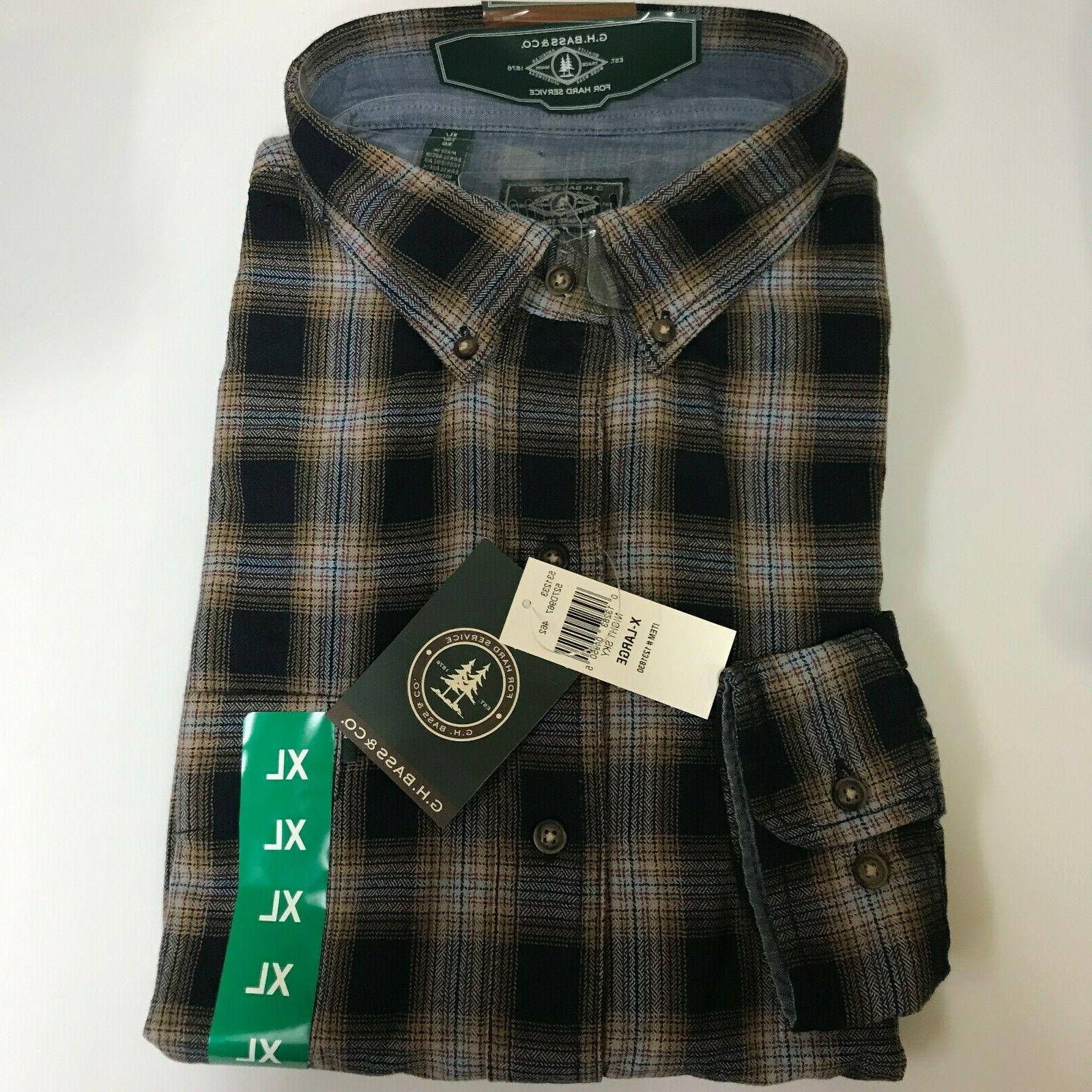*NWT* G. & MEN'S FLANNEL SHIRT Variety