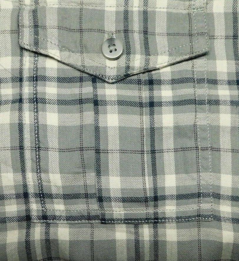 NWT Top Drawer, Plaid Flannel 100% Super