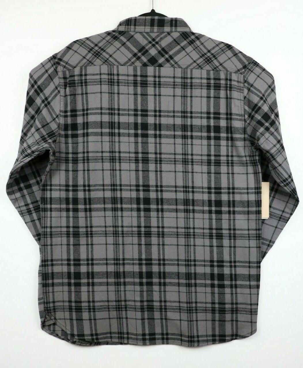 NWT Large Long Plaid Shirt