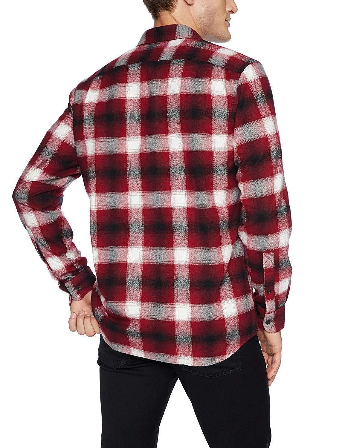 NWT Long-Sleeve Brushed Flannel Goodthreads Tall MT