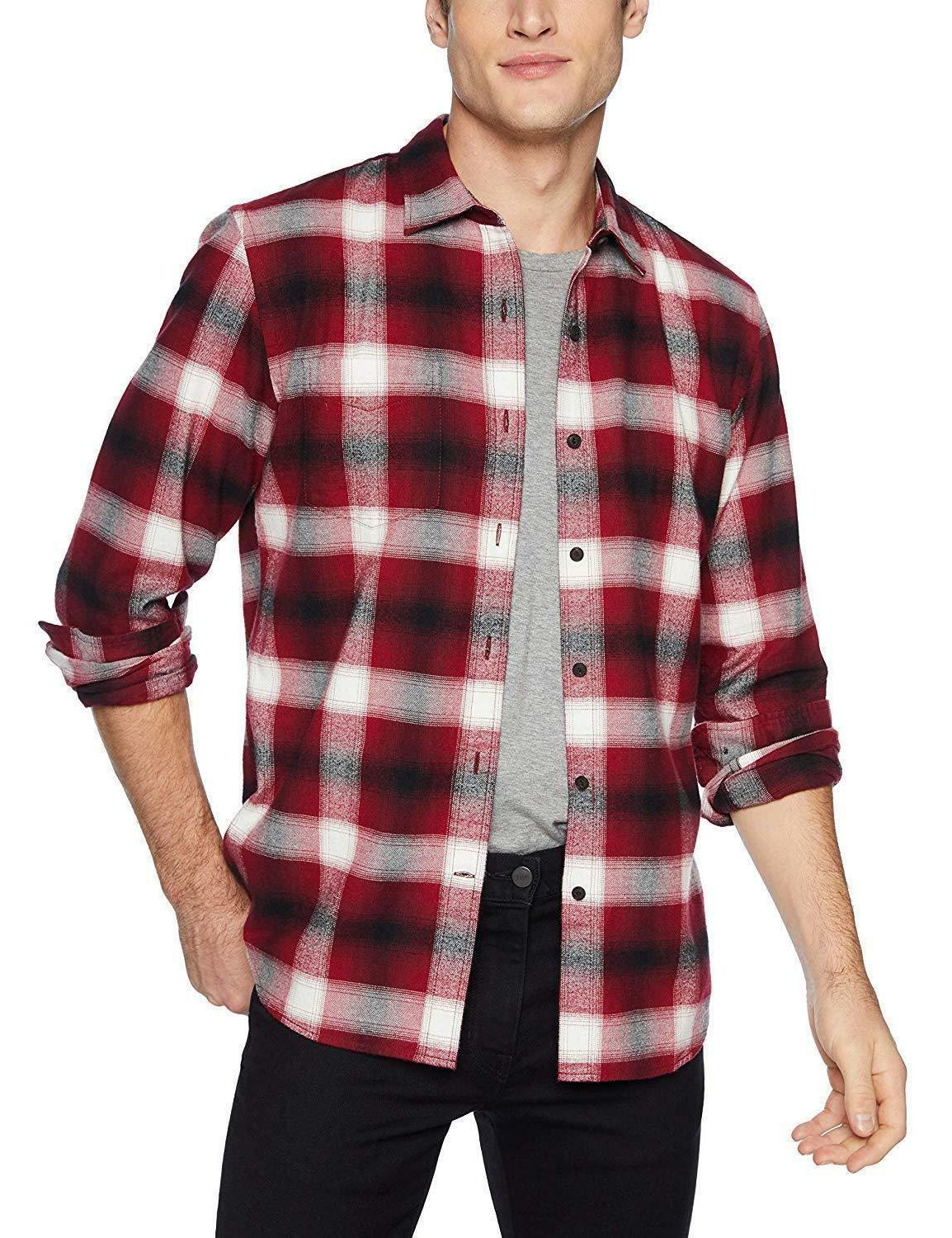 NWT Men's Long-Sleeve Flannel Tall