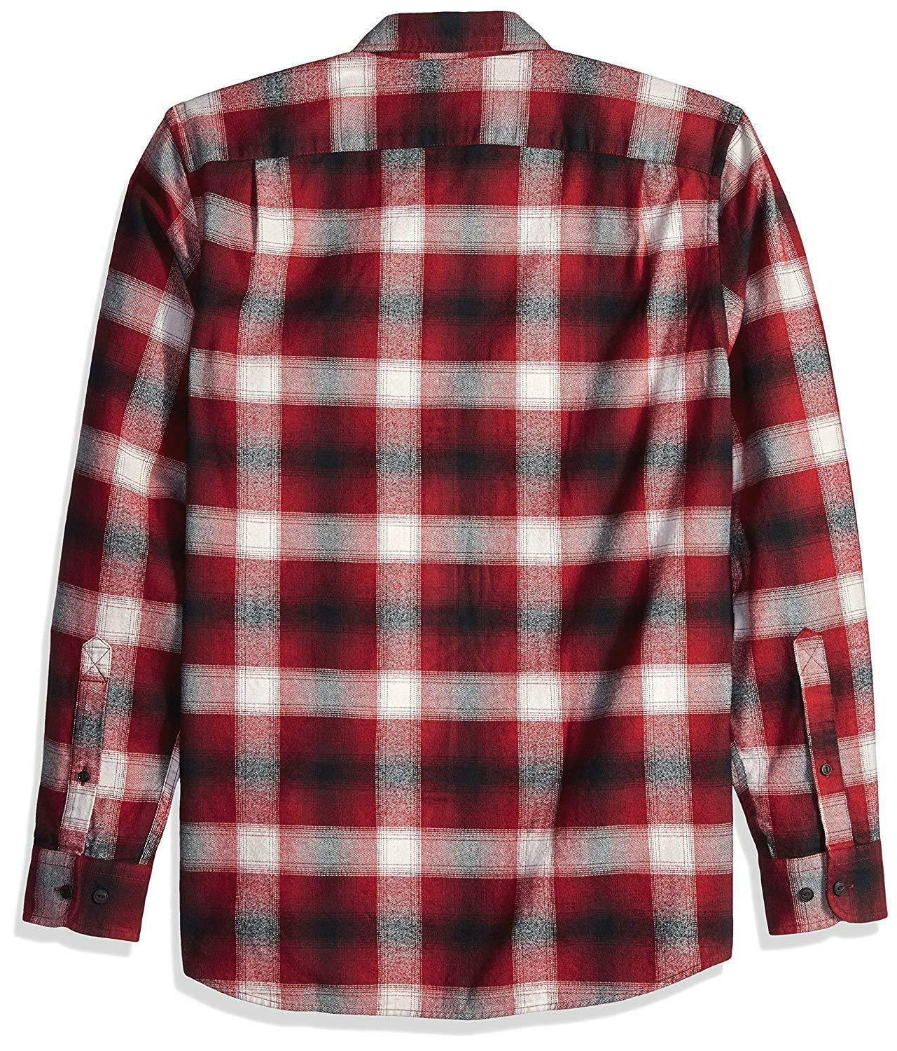 NWT Men's Long-Sleeve Flannel Tall MT