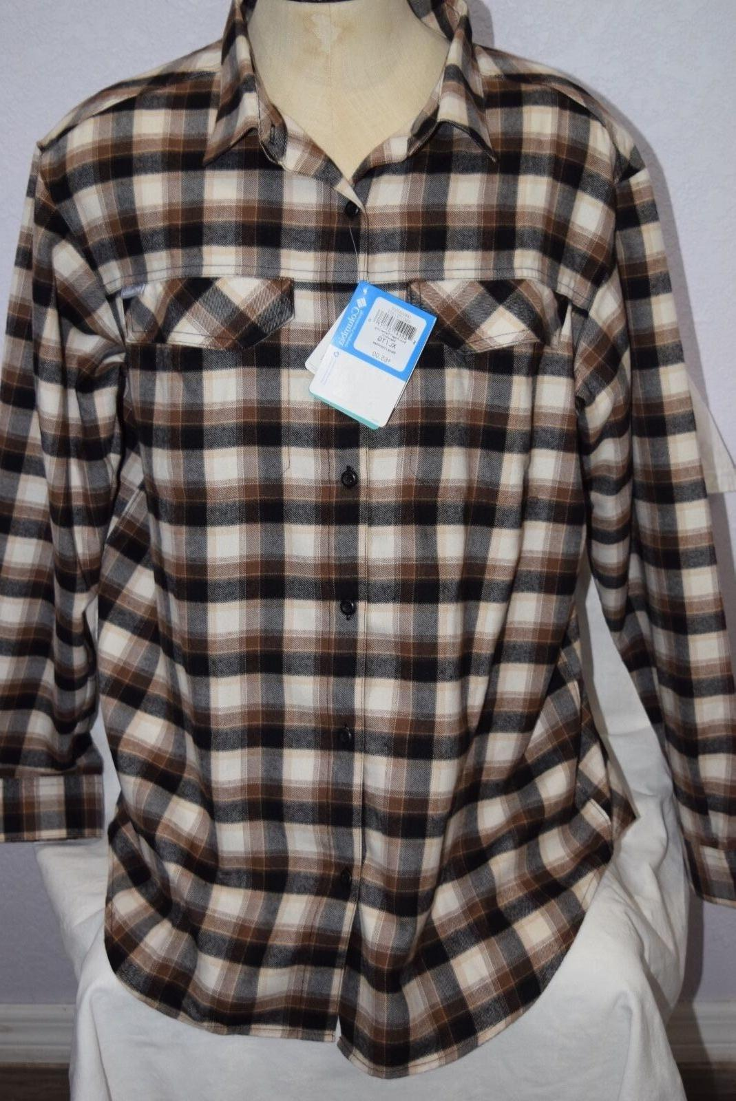 nwt men s silver ridge flannel long