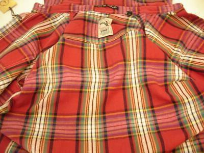 NWT Mens Jachs Brawny J. Shirts Plaid
