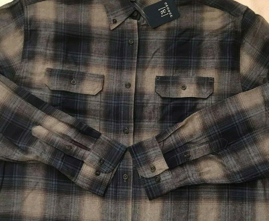 NWT Size XL PLAID SEAMS