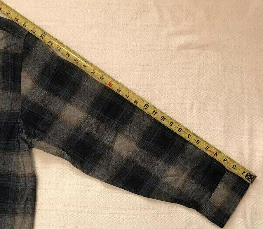 NWT Mens PLAID Long REINFORCED SEAMS