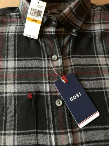 NWT Mens Size Izod Shirt Sleeve Stripe