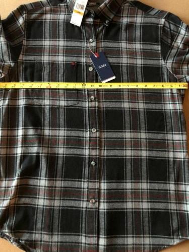 NWT Izod Sleeve Black/Gray Stripe