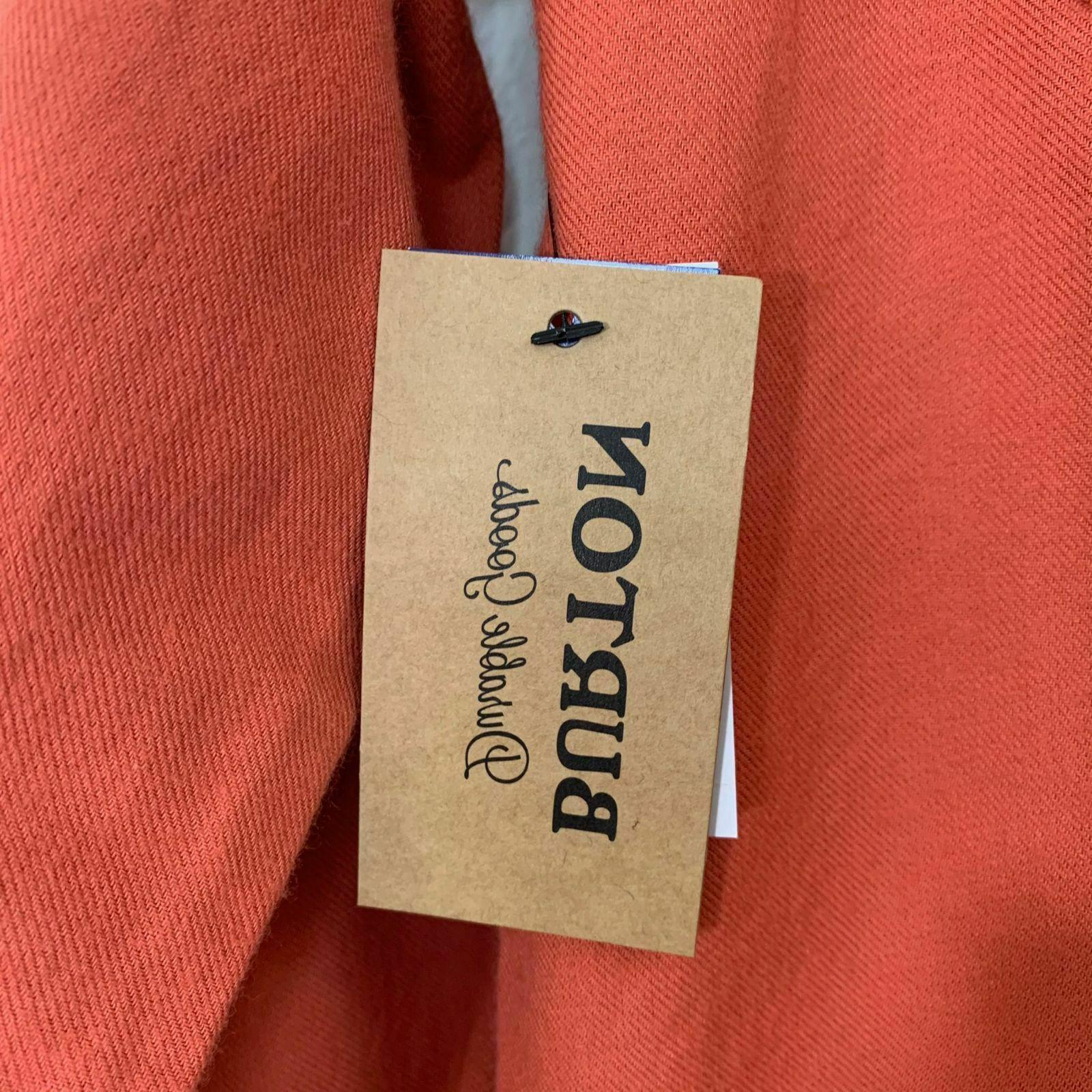 NWT Mens Brighton Flannel Button Long Sleeve Shirt Sauce