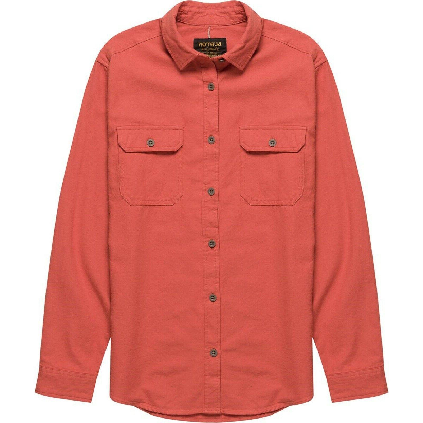 nwt mens small brighton flannel button down