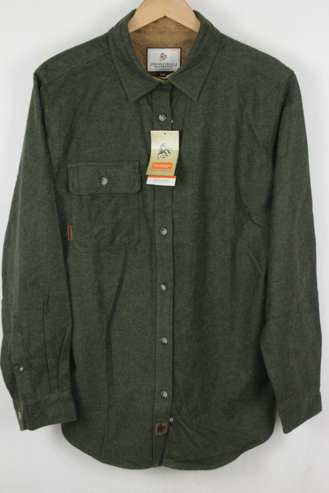 nwt mens sz medium buck camp army