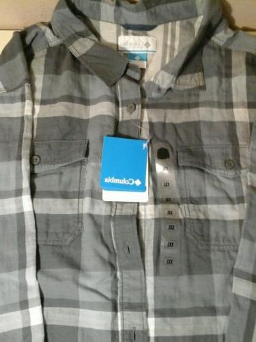NWT columbia xxl flannel down