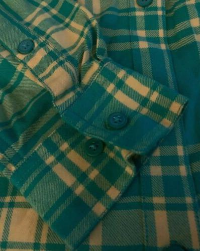 NWT Columbia Ducks Flannel Size XL Extra