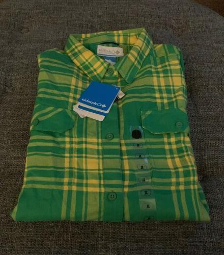 nwt oregon ducks flannel shirt mens size