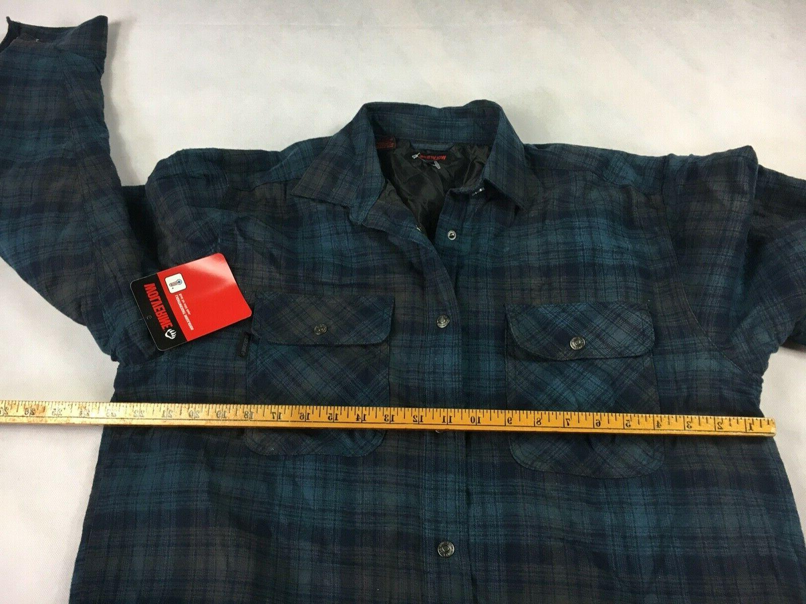 NWT Forester Blue Shirt Men's Size Large