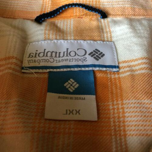 NWT University of Tennessee Mens Flannel Shirt Size