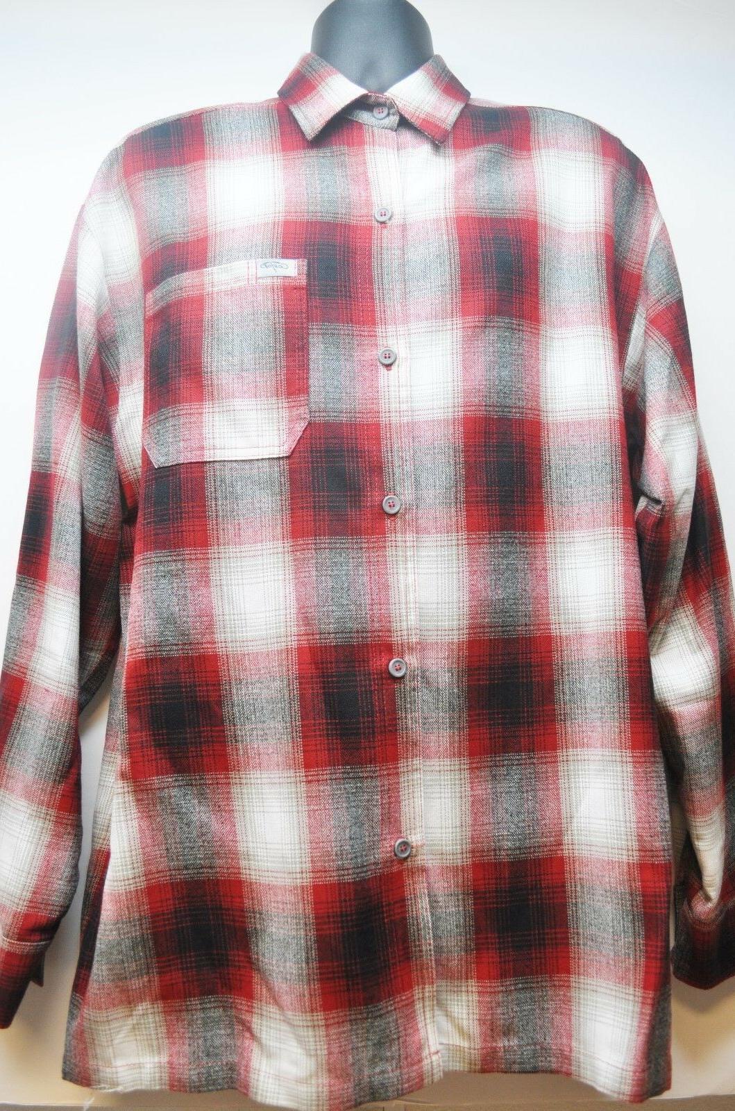 CalTop Old School Plaid Flannel Sleeve OG Veterano Biker Up Shirt