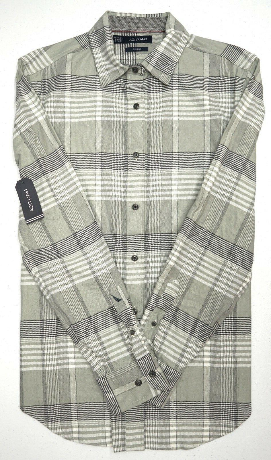 Orig Gray Plaid Mens Size XL 100% Cotton