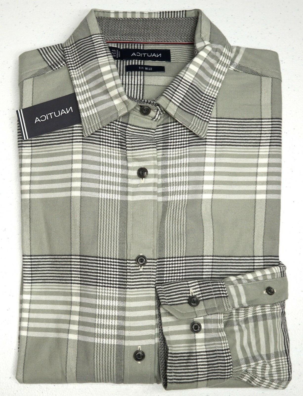 orig 79 gray plaid flannel ls shirt