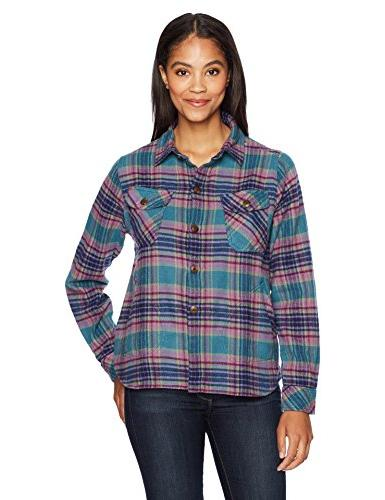 oxbow bend chunky flannel shirt