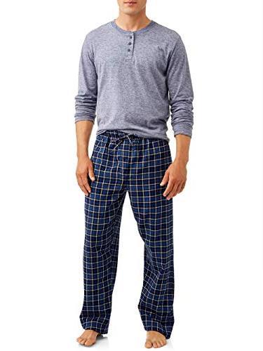 pajamas flannel sleep set ecosmart