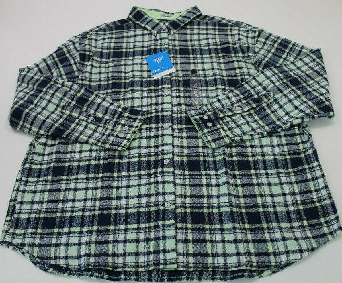 Columbia PFG Harborside Flannel Fishing Shirt