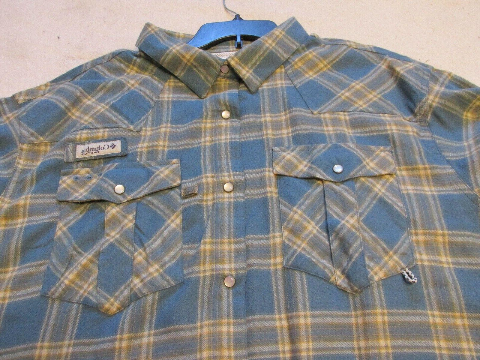 COLUMBIA BEADHEAD Fishing Shirt S NWT $65.00
