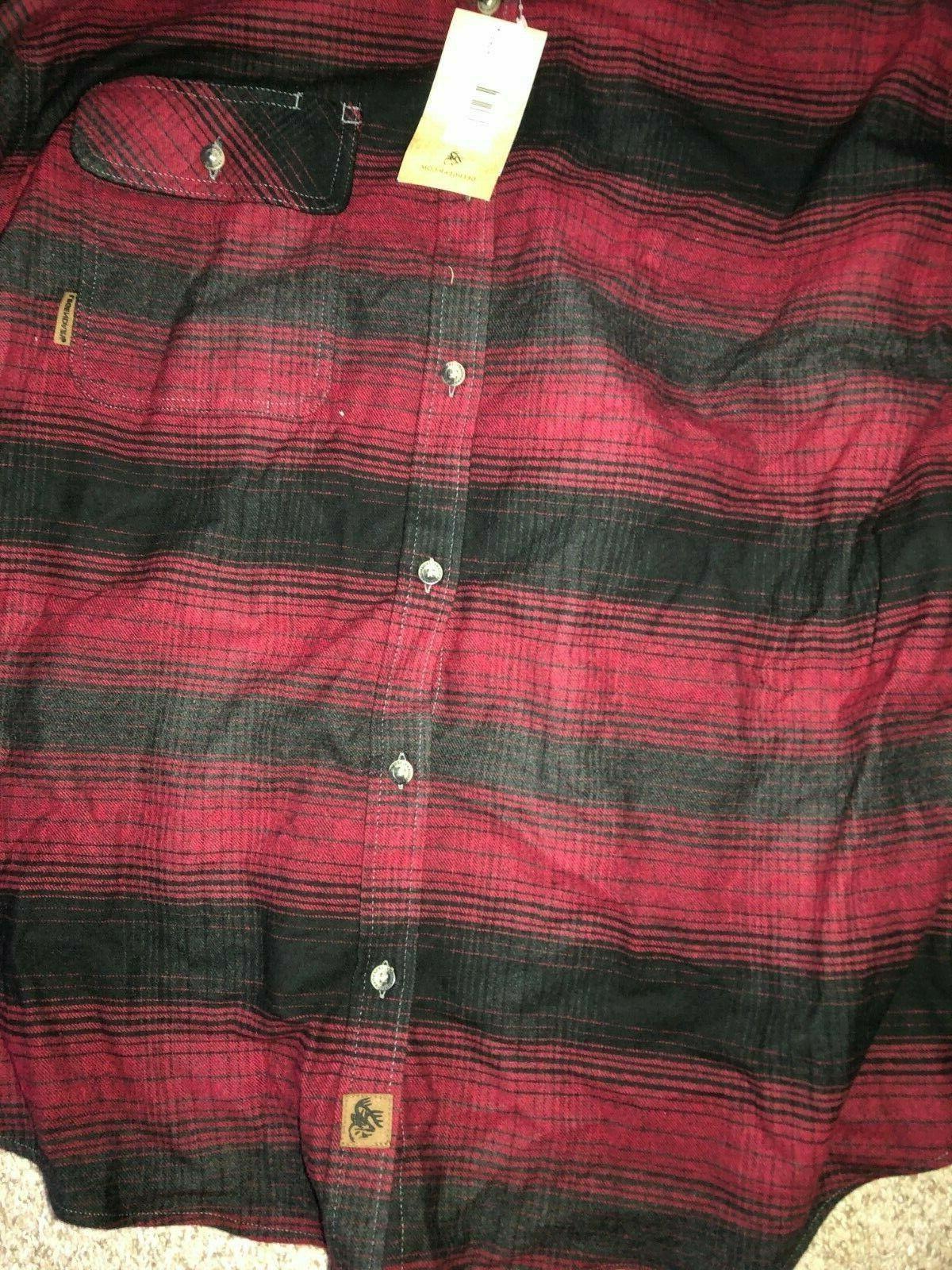 LEGENDARY WHITETAILS CAMP Long Sleeve Shirt 2XL