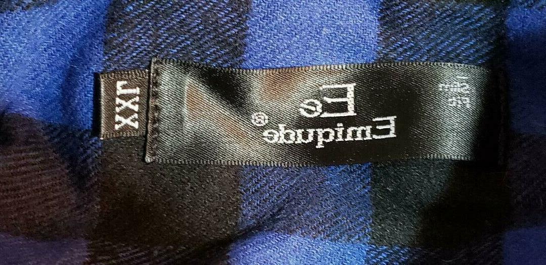 Emiqude button down flannel XXL
