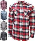 plaid flannel shirt for men long sleeve