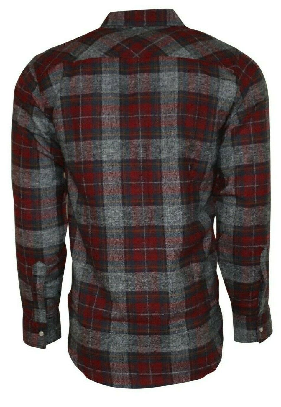 Plaid Shirt for Men, Sleeve Western Style