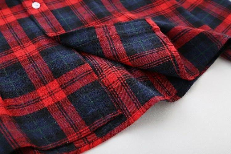 Plaid Women's Long Sleeve Casual