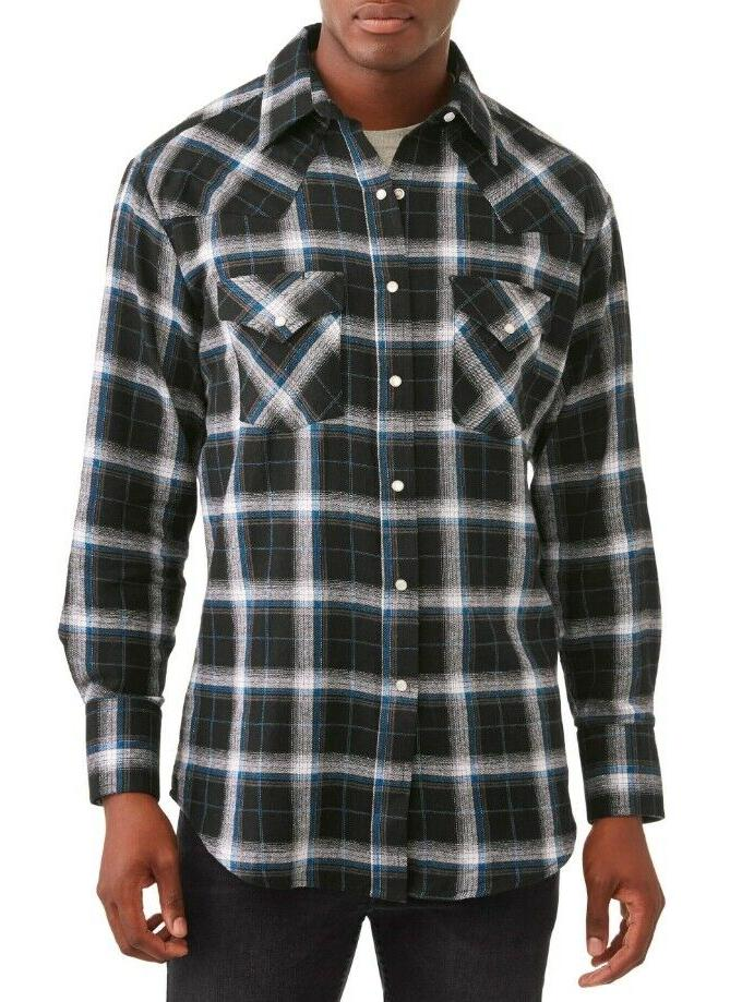 plains western big men s long sleeve