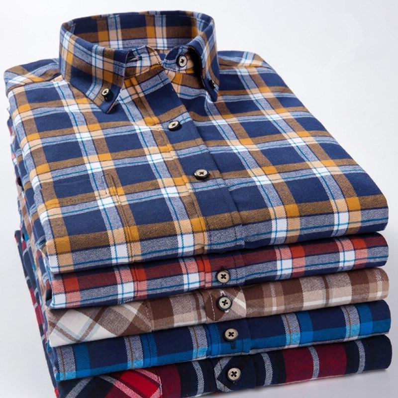 Plus 7XL Men's 100% Cotton Slim Fit Blouse Work Clothes