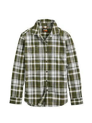 r value flannel work shirt