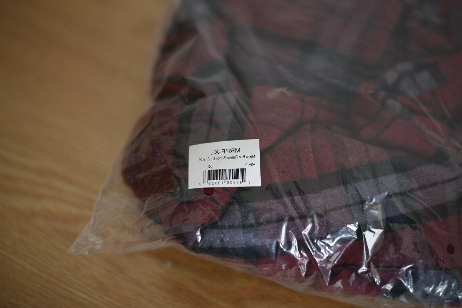 Vortex flannel men's brand new in original