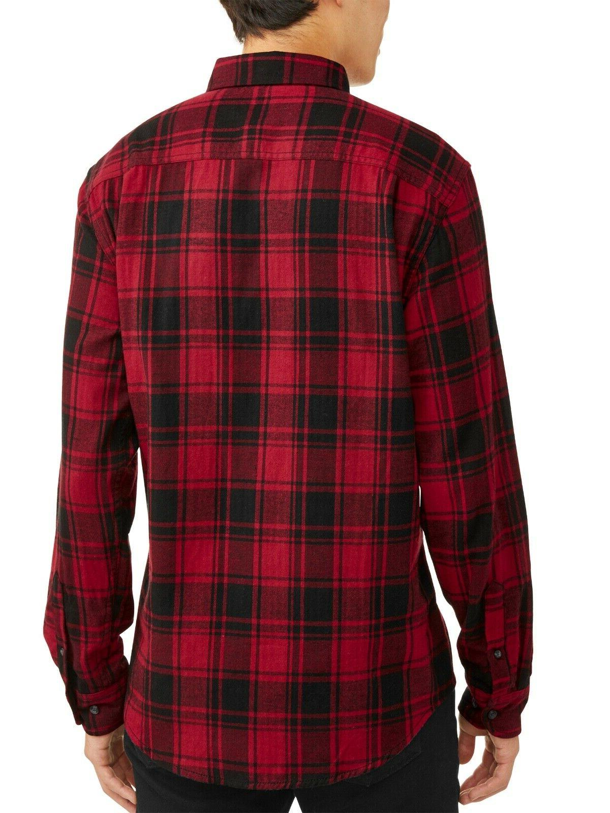 George Long Sleeve Flannel L