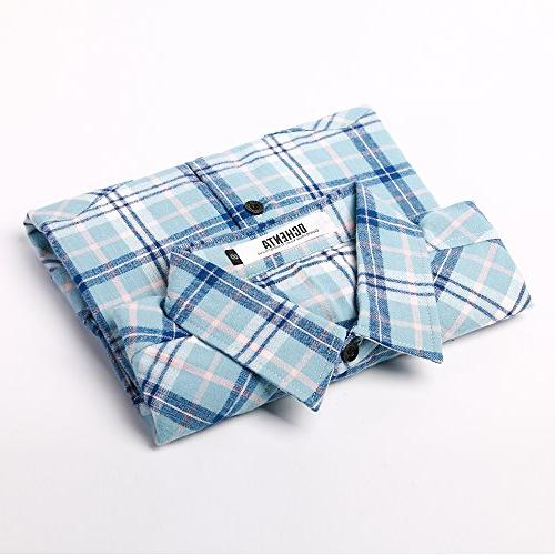 Roll-Up Plaid Shirt Size S