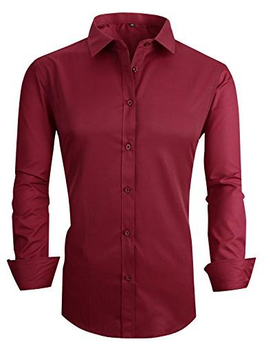rs men s casual long sleeve business