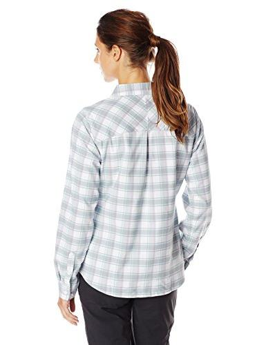 Columbia Saturday Trail II Flannel Shirt, Blueglass, Large