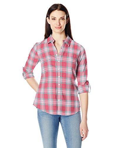sheridan long sleeve flannel shirt