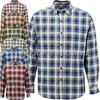 shirt mens hammond long sleeve flannel plaid