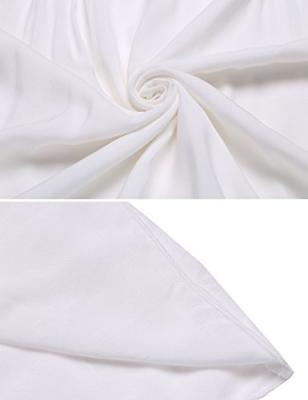 Ekouaer Short Sleeve Cotton Victorian Women
