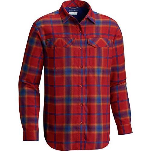 silver ridge flannel long sleeve