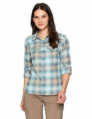 silver ridge long sleeve flannel