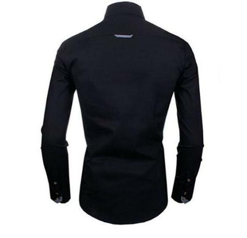 Mens Fit Cotton Slim Doublju Flannel Button Shirts