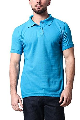 solid carded pique polo shirt
